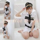 New SEXY & HOT Flight Attendant Stewardess Girl Cosplay Dress Cute women Costume Lingerie FA# 13