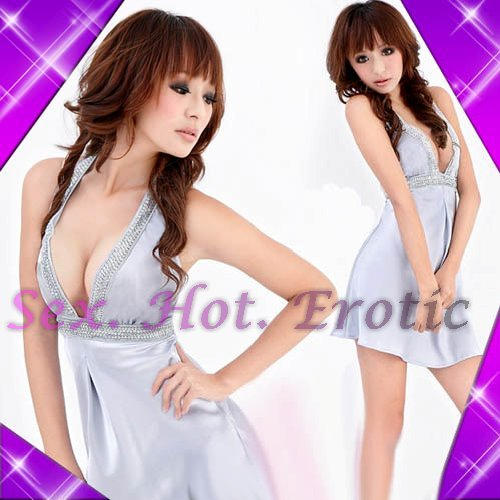 Clubbing Evening Stage Dancer Dress Sexy Lingerie Hot Cute women dress badydoll CD07