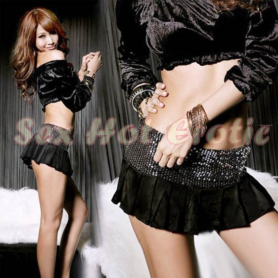 Clubbing Evening Stage Dancer Dress Sexy Lingerie Hot Cute women dress badydoll CD20