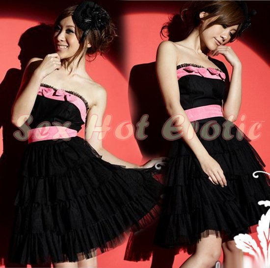 Clubbing Evening Stage Dancer Dress Sexy Lingerie Hot Cute women dress badydoll CD21