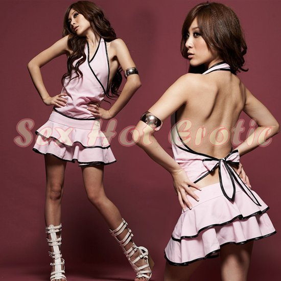 Clubbing Evening Stage Dancer Dress Sexy Lingerie Hot Cute women dress badydoll CD22