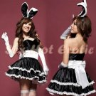 New SEXY & HOT Party Girl Cosplay Rabbit Dress Cute women Costume Lingerie CR# 01a