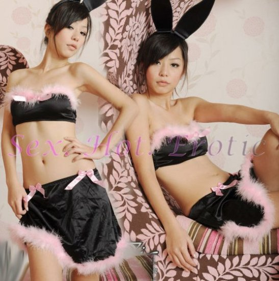 New SEXY & HOT Party Girl Cosplay Rabbit Dress Cute women Costume Lingerie CR# 03