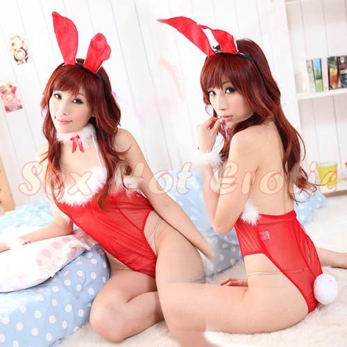 New SEXY & HOT Party Girl Cosplay Rabbit Dress Cute women Costume Lingerie CR# 07