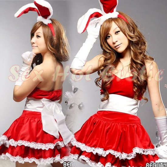 New SEXY & HOT Party Girl Cosplay Rabbit Dress Cute women Costume Lingerie CR# 08