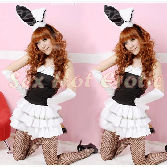 New SEXY & HOT Party Girl Cosplay Rabbit Dress Cute women Costume Lingerie CR# 11