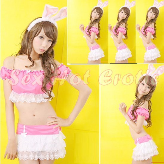 New SEXY & HOT Party Girl Cosplay Rabbit Dress Cute women Costume Lingerie CR# 14
