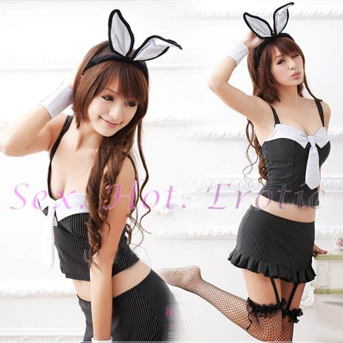 New SEXY & HOT Party Girl Cosplay Rabbit Dress Cute women Costume Lingerie CR# 15