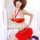 Fee Sexy High quality polyester babydoll lingerie ladies underwear women sleepwear w/G string FS39