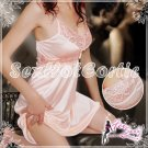 Fee Sexy High Quality Lace babydoll lingerie Women underwear Nightwear Sleepwear FS22