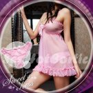 Fee Sexy High quality Lace babydoll lingerie ladies underwear women sleepwear w/G string FS61