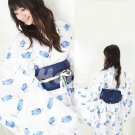 New Hot & Sexy Lace Japanese Kimono Lingerie Costume Sleep Dress KM#23