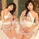 New Hot & Sexy Lace Japanese Kimono Lingerie Costume Sleep Dress KM#34