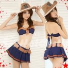 Halloween Party Costume cosplay dress Hot Sexy lingeries Cowgirl HW01