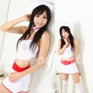 New Hot Women Lingerie Sexy Nurse Cosplay Adult Costume Dress NU# 49