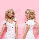 New Hot Women Lingerie Sexy Nurse Cosplay Adult Costume Dress NU# 50