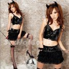 New Halloween Party Devil Costume cosplay dress Hot Sexy lingeries Cowgirl HW99