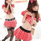 New Halloween Party Mickey Mouse MoCostume cosplay dress Hot Sexy lingeries Cowgirl HW25