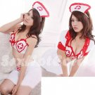 New Hot Women Lingerie Sexy Nurse Cosplay Adult Costume Dress NU# 56