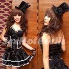 Princess Lolita Cake dress Costume Cosplay Japanese Hot Sexy Cute women badydoll PI24