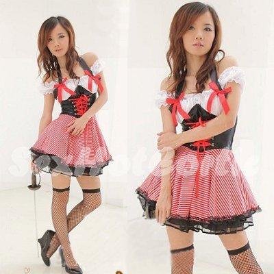 Princess Lolita Cake dress Costume Cosplay Japanese Hot Sexy Cute women badydoll PI25
