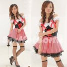 Princess Lolita Cake dress Costume Cosplay Japanese Hot Sexy Cute women badydoll PI25