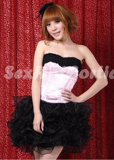 Princess Lolita Cake dress Costume Cosplay Japanese Hot Sexy Cute women badydoll PI26