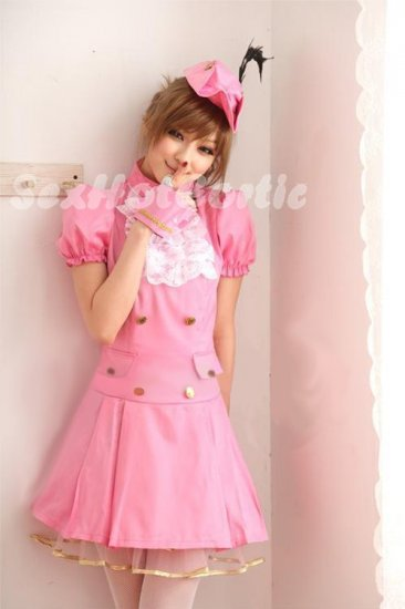 Princess Lolita Cake dress Costume Cosplay Japanese Hot Sexy Cute women badydoll PI27