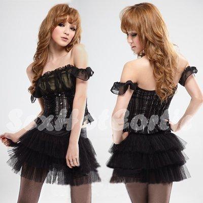 Princess Lolita Cake dress Costume Cosplay Japanese Hot Sexy Cute women badydoll PI31