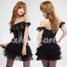 Princess Lolita Cake dress Costume Cosplay Japanese Hot Sexy Cute women badydoll PI31