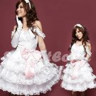 Princess Lolita Cake dress Costume Cosplay Japanese Hot Sexy Cute women badydoll PI37