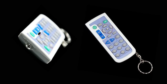 Universal Remote Controller Keychain with Keypad