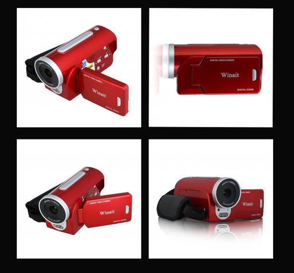 Red Criminal Handycam