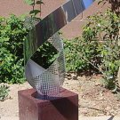 Contemporary Modern Metal Abstract Large Sculpture