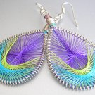 RUMBA Colorful LightWeight Hand Woven Thread Earrings