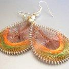 EARHTY  LightWeight Hand Woven Thread Earrings