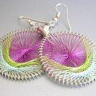 FRESCIA LightWeight Hand Woven Thread Earrings