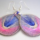 RHIANA Light Weight Hand Woven Thread Earrings