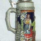 Vintage Lidded Beer Stein - Gerz  W.Germany 7