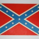 Vintage Postcard Confederate Flag  Unused