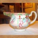 vintage rose medallion pottery