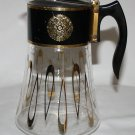 Vintage David Douglas Flameware Glass Coffee Pot  8 Cup  Signed