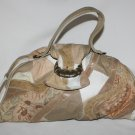 Vintage Pathchwork and Tapestry Purse  Tan's