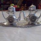 vintage miniature salt & pepper shakers