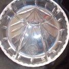 vintage crystal redish dishes