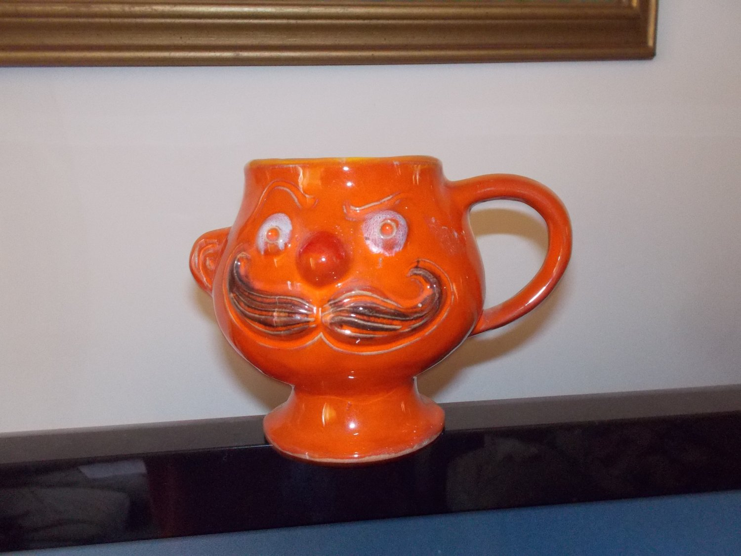 vintage mustace cups