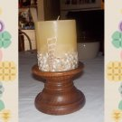 vintage candle and holders