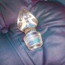 Vintage crystal wine or bottle stopper