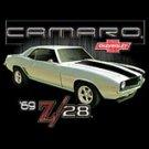 69 Camaro-Chevrolet Black T-shirt