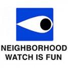 Neighborhood Watch White T-Shirt